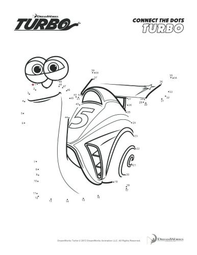 turbo character coloring pages - photo#25