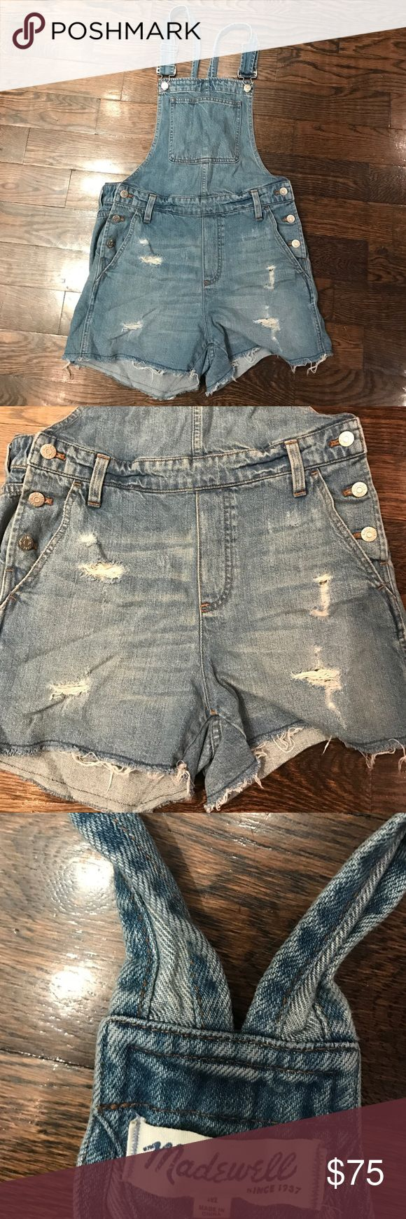 Madewell overalls Worn once Madewell Shorts