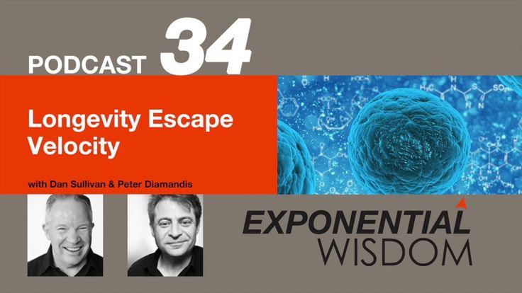 Exponential Wisdom Episode 34: Longevity Escape Velocity https://www.youtube.com/watch?v=4Ouje475718