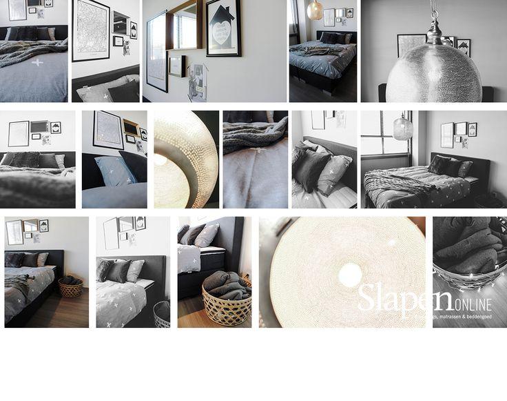 Mooie boxsprings bij www.slapenonline.nl #lookbook #boxsprings #modern #inspiratie #slaapkamer #showroom