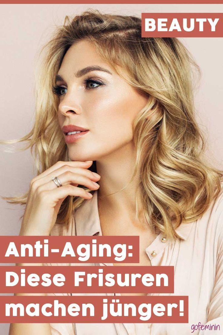 Anti Aging Fur Die Haare Diese Frisuren Machen Junger Frisur Ab 40 Eckiges Gesicht Naturliche Hautpflege