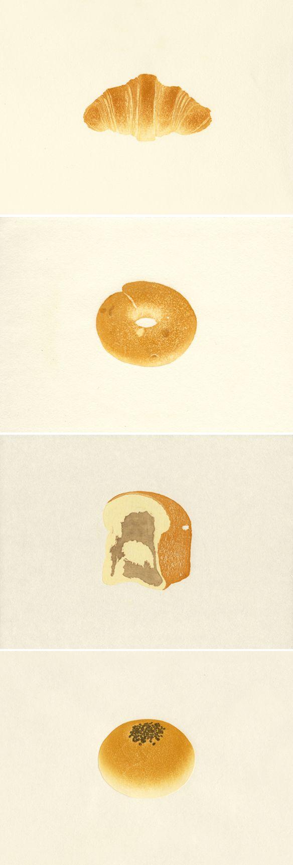izumi morito hikosaka yuki ... bread illustrations!