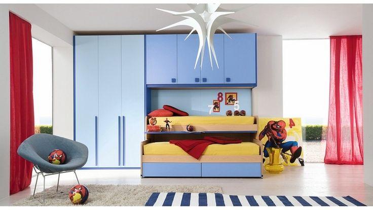 Desain dan Model Kamar Tidur Anak Laki Laki