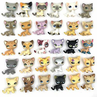 Details about 5pcs/Lot Littlest pet Shop random rare LPS short hair Cat dachshund Dog Toy – Idées mignones