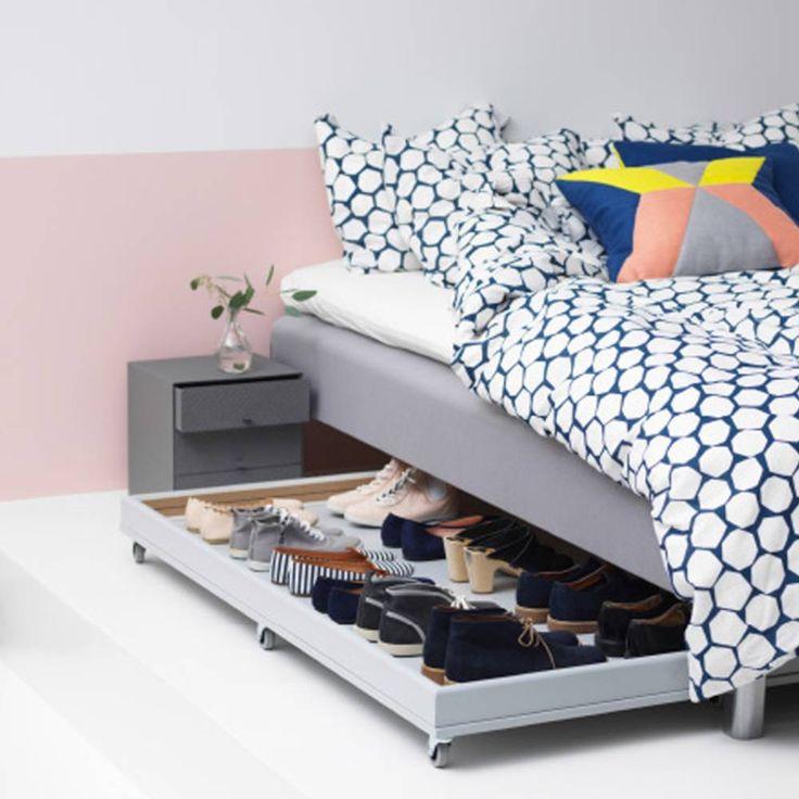 Exceptional Ikea Rangement Sous Lit #12: 20 Idées Malignes Pour Détourner Vos Meubles Ikea