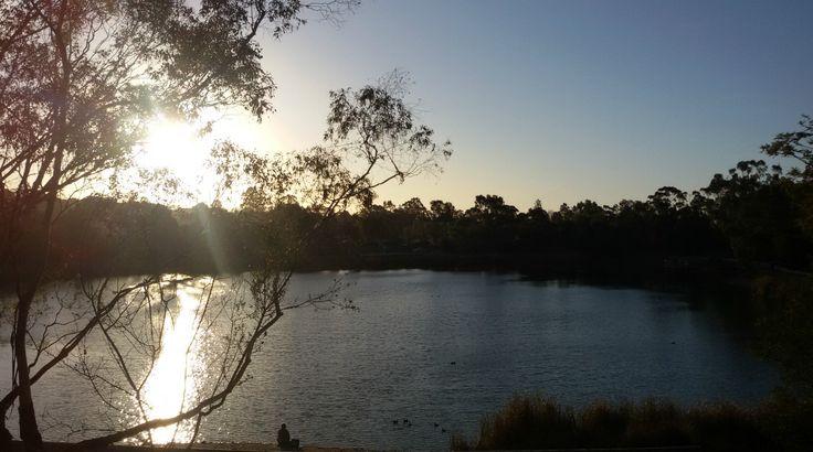 Lake Esmond in Ballarat, Victoria