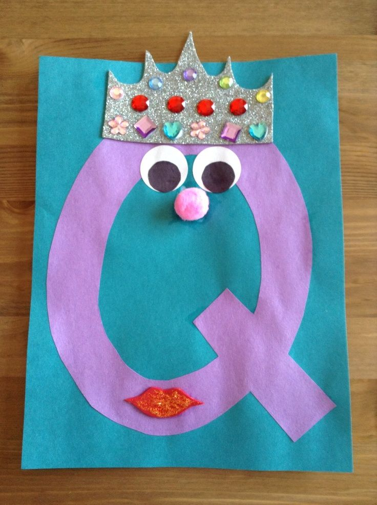 25 best ideas about letter q crafts on pinterest letter for Preschool art and craft