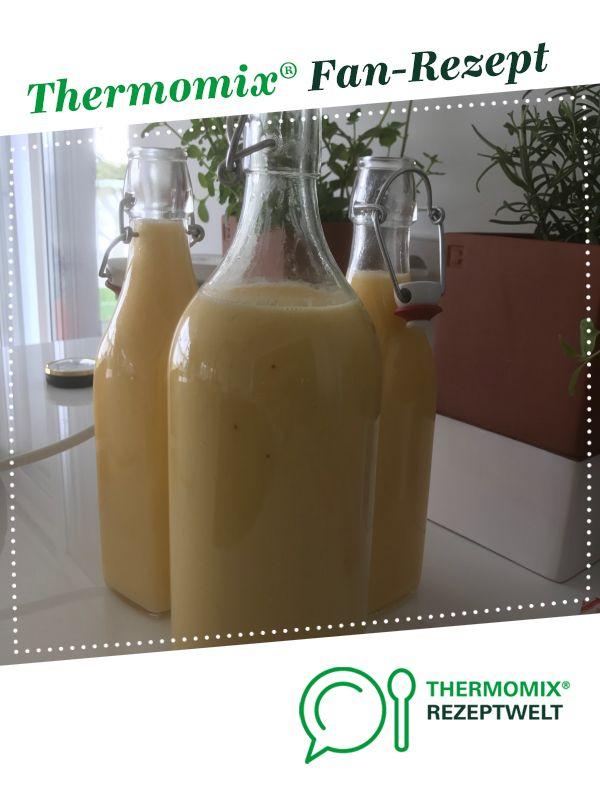Eierlikör Mit Wodka Recipe In 2019 Thermomix Eierlikör