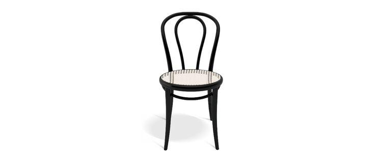 Ton Chair 18 med flätad sits | Olsson & Gerthel