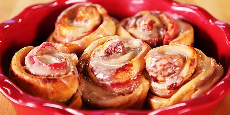 Dangerously Delicious Maple Bacon Cinnamon Rolls