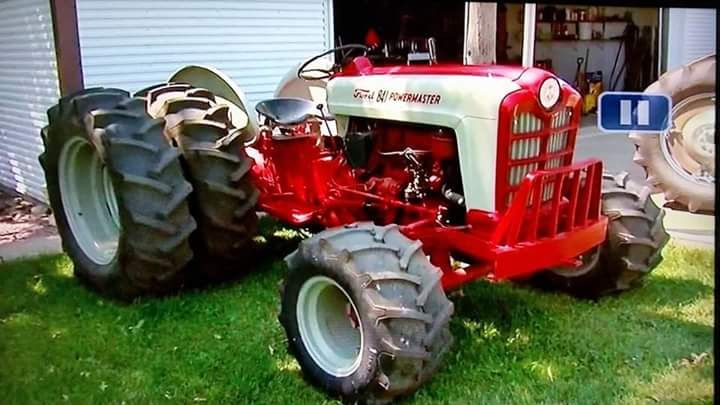 rollerman1:  Custom Ford Jubilee W/duals & front assist.