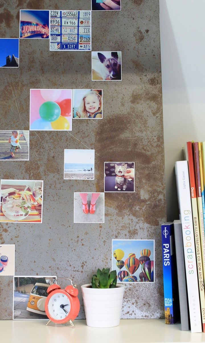 These cute magnets can be printed with photos from your Instagram, camera-roll or desktop. A nice idea for christmas gifts!