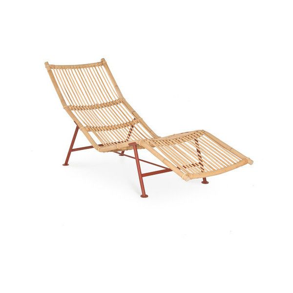 Cane Chaise Longue By Lensvelt ❤ Liked On Polyvore Featuring Home, Furniture,  Chairs,