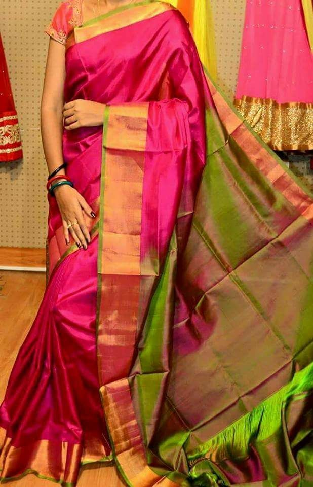 7dc5c6730 Latest Uppada pattu sarees in 2019 | online shopping | Uppada pattu sarees, Pattu  sarees wedding, Silk sarees online shopping