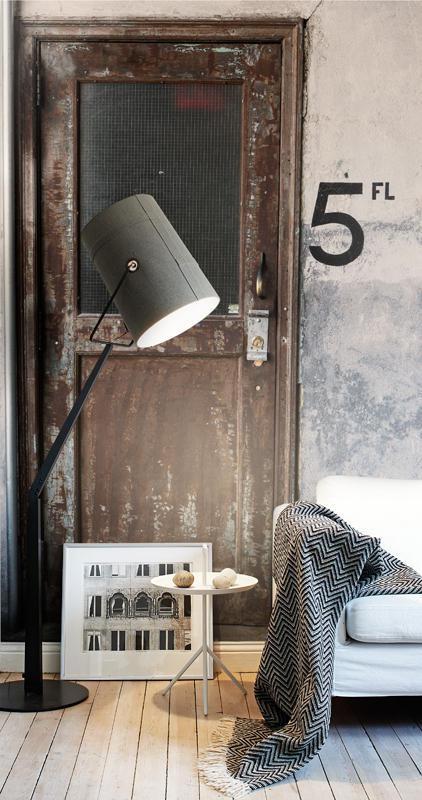 loft-factory-indretning-wallpaper-vintage-bolig-stue-mursten-home-decor