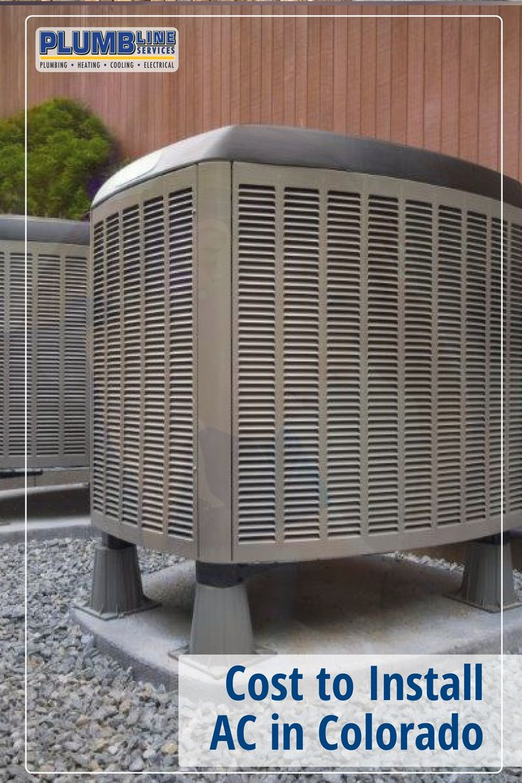 Cost to Install an AC in Colorado Air conditioner