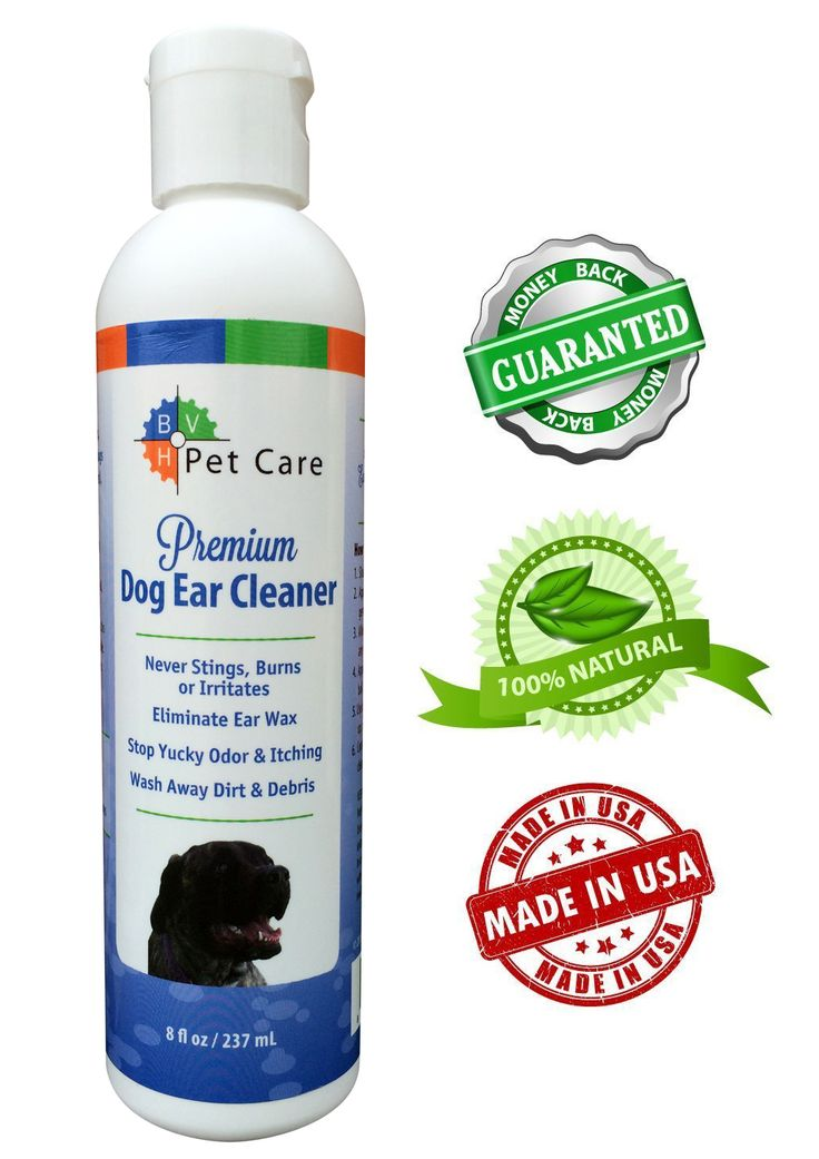 """Dirty Ears Feed Bacteria and Cause Infections!"" = Haven't used this, but article says ""Dogs ears should be cleaned at least once  month!"""
