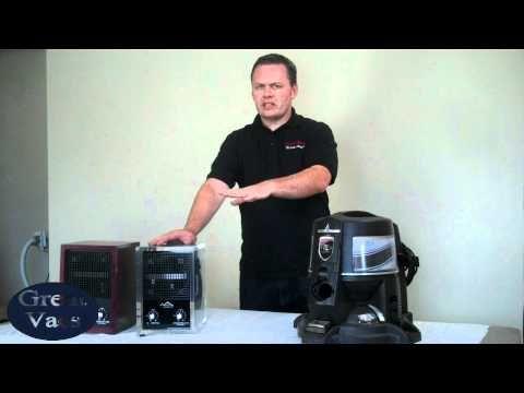 Using a Rainbow Vacuum as an Air Purifier Comparison - YouTube
