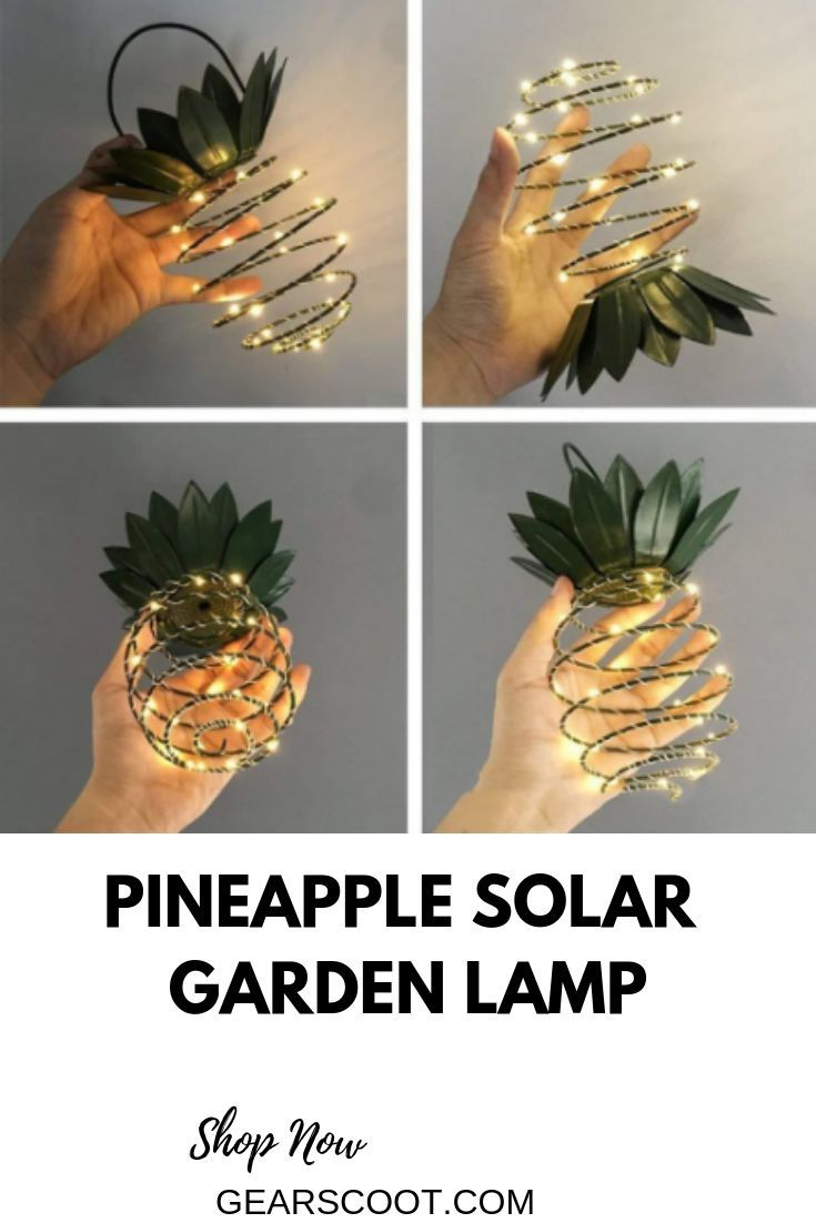Waterproof Hanging Solar Lanterns Pineapple Solar Garden Lamp Outdoor Fairy Lights Path Lights Home Decoration Night Lamp Lights & Lighting