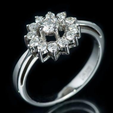 Кольцо с бриллиантами YK2O 097