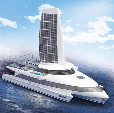 Solar Powered Boats - Sailing the high seas with free electricity from the sun | dasolar.com