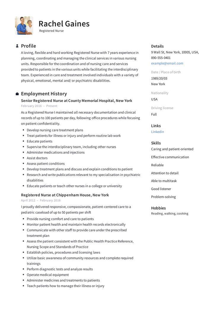 Registered Nurse Resume Sample & Writing Guide +12