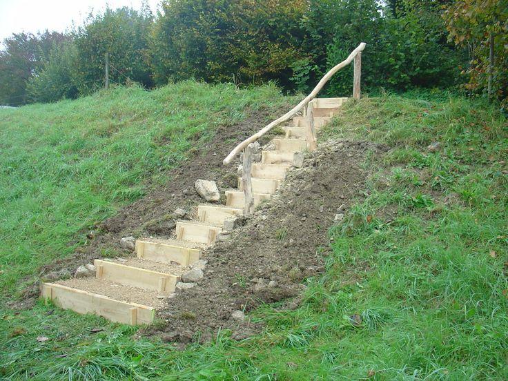 Luxury Treppen im Gel nde Michael Rhiner Holz u Garten LH Garten Treppen u Wege Pinterest Holz G rten Treppe und Holz