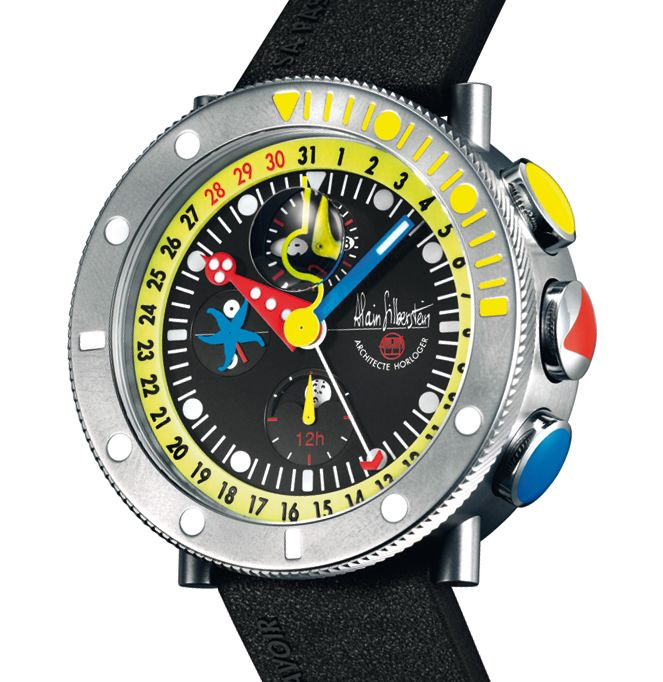Alain Silberstein Marine Krono watch, pictures, reviews, watch prices