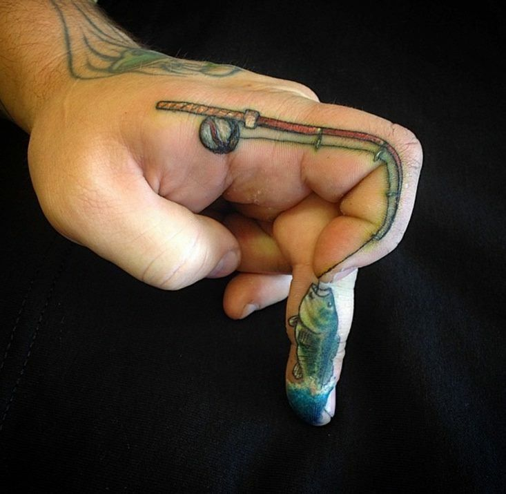 17 best ideas about fishing hook tattoos on pinterest hook tattoos country tattoo and fish. Black Bedroom Furniture Sets. Home Design Ideas