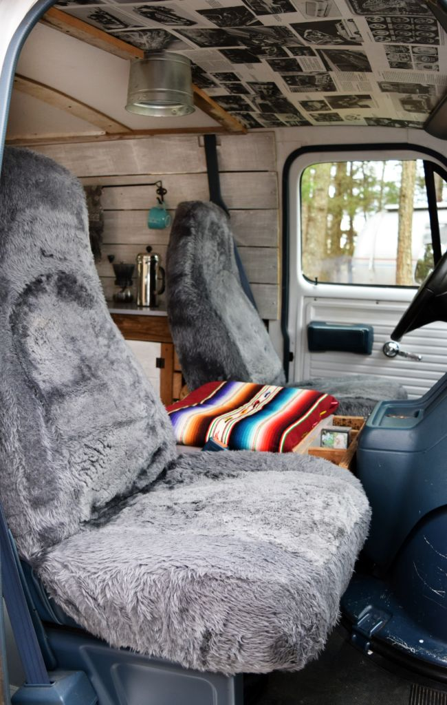 Our Custom, Modern Boogie Van. They got it for $850
