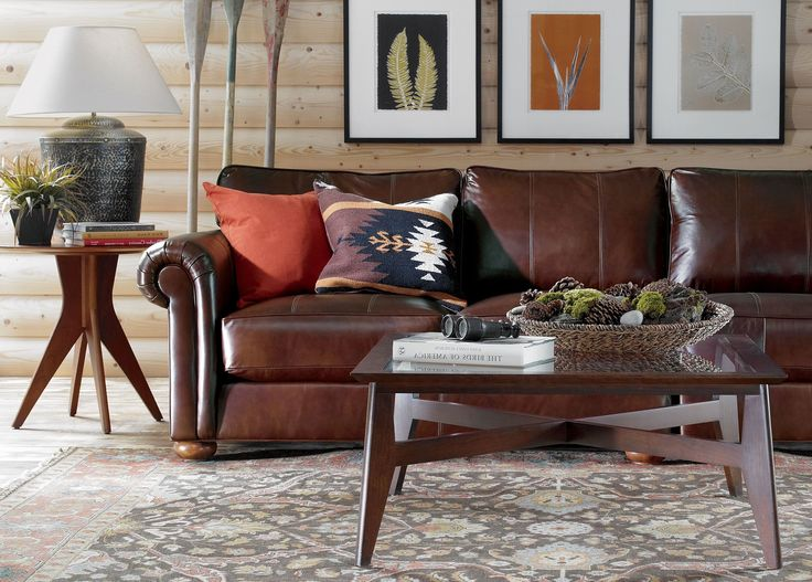Leather Sofa Throw Pillows