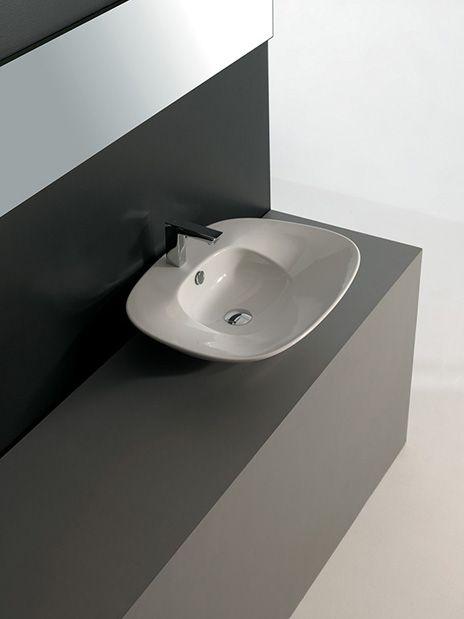 Artceram, #lavabo K Design Meneghello Paolelli Associati #washbasin #bagno #small #bathroom