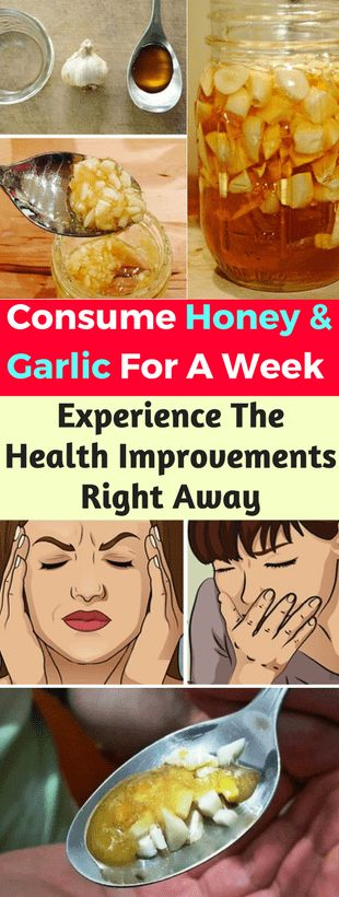 Consume Honey And Garlic For A Week and Experience The Health Improvements Right Away - Garlic,Health,Honey -