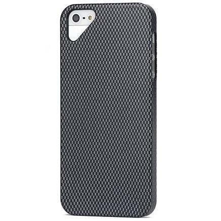 Husa iPhone 5 ultraslim model fibra carbon - CUBZ
