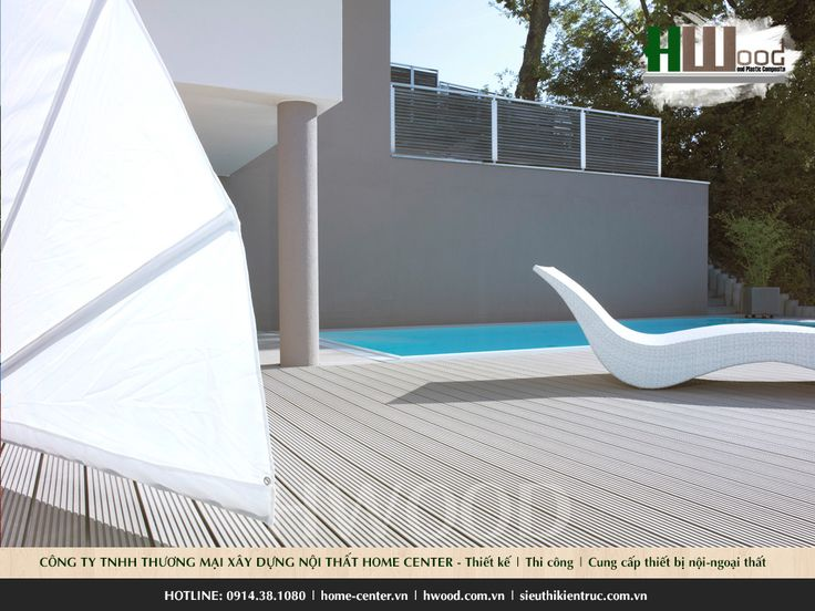 Ván sàn hồ bơi thương hiệu HWood WPC | #vansanhoboi #sanhoboi #vansanngoaitroi #sangohoboi #sangongoaitroi #vansanhwood