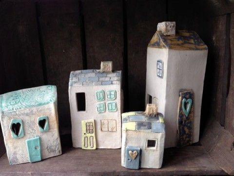 cottages | Charlotte Hupfield Ceramics