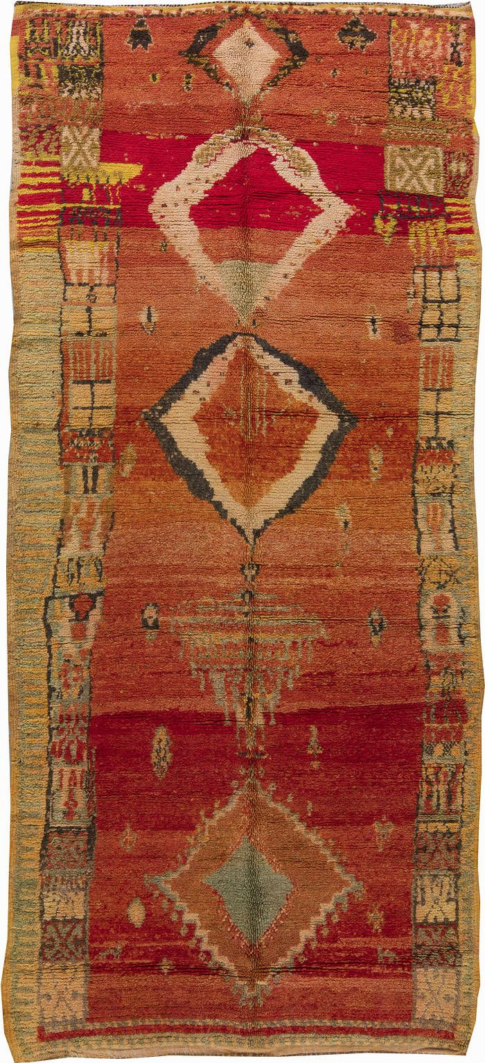 Antique Rug,Antique Carpets,Antique Persian Rugs,Tabriz Rugs,Custom Rugs - Vintage Moroccan Rug BB6218