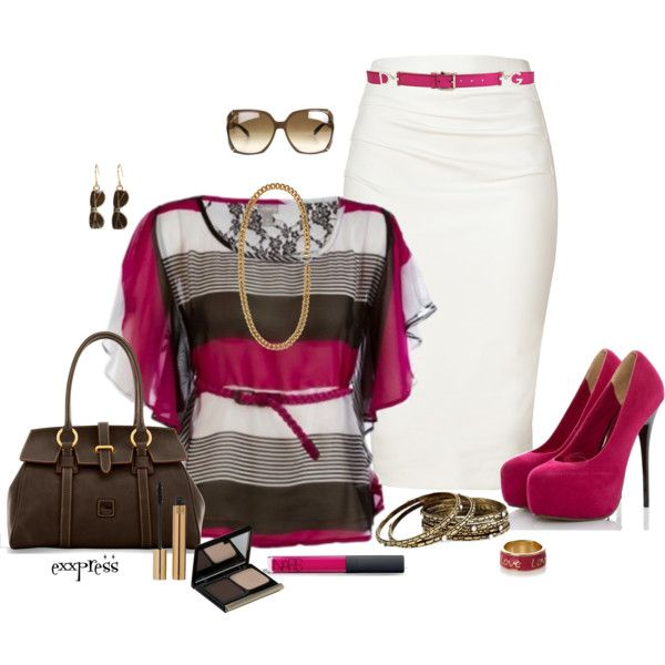 Casual Outfit: Outfits, Fashion, Style, Clothes, Dress, Casual, For Women, Pencil Skirts, Work Outfit