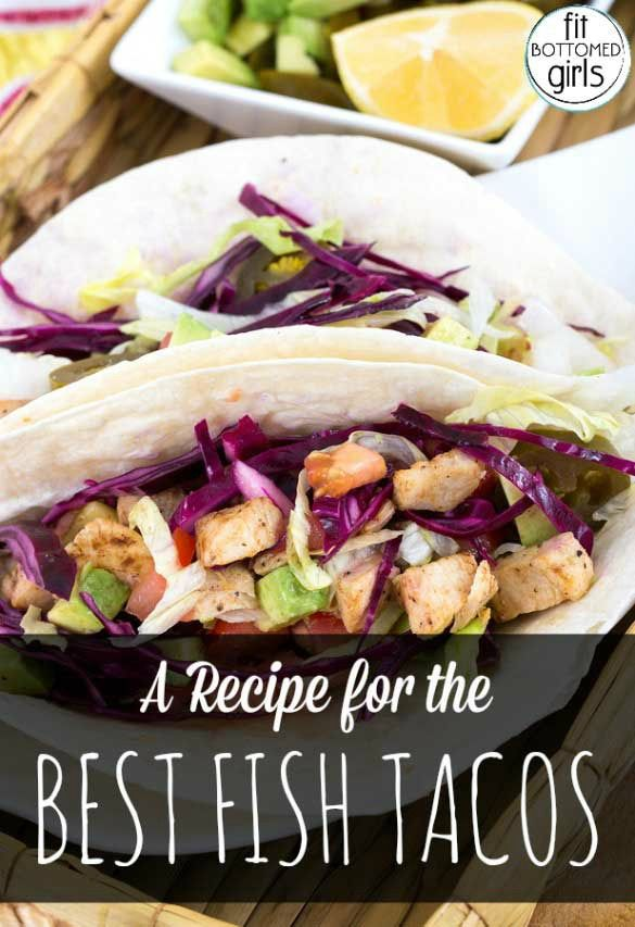 We found the best healthy fish tacos recipe on the planet. Seriously.