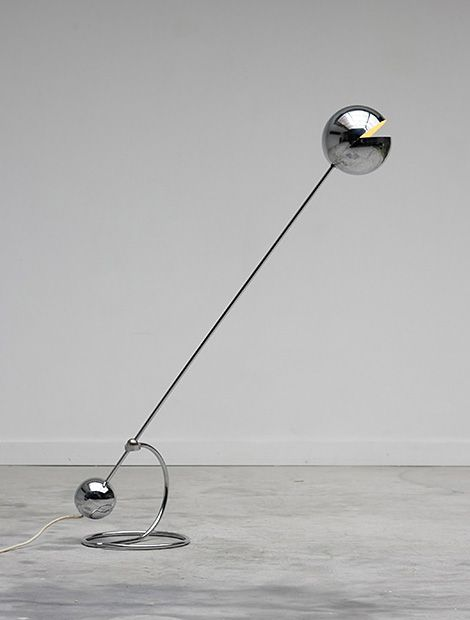 Floor lamp '3S' designed by Paolo Tilche from the 1970's.