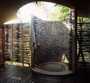 17 best images about showers on pinterest camps outdoor for Best bathroom designs in south africa