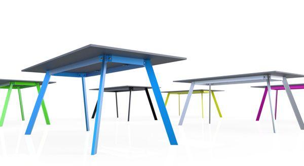 Lorikeet concrete table by Tomas Vacek studiovacek.cz  designed for Gravelli.com
