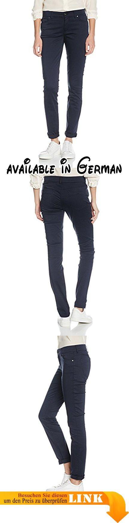 Marc O'Polo Damen Jeanshose M01047511035 Blau (Deep Sea Blue 899), W25/L32. Die Jeans - Modell Alby Slim hat eine trendige, verkürzte Länge und ist schmal geschnitten.. Das Baumwoll-Mix-Gewebe fühlt sich glatt und weich auf der Haut an.. Die Hose ist wandelbar und kann zu vielem kombiniert werden. #Apparel #PANTS