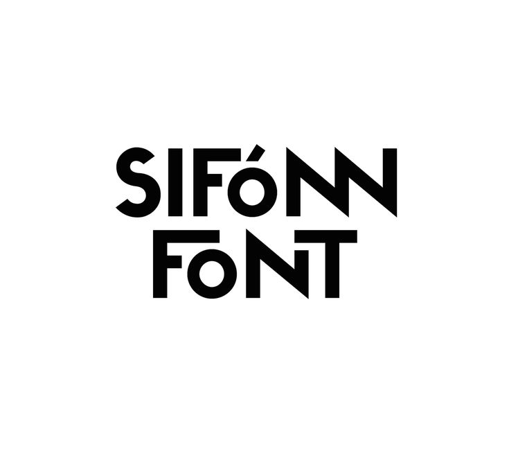 SIFONN Typeface on Behance