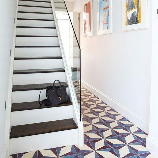 Hallway | Retro chic west London townhouse | House tour | PHOTO GALLERY…