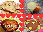 Вегетарианские рецепты на день влюбленных
