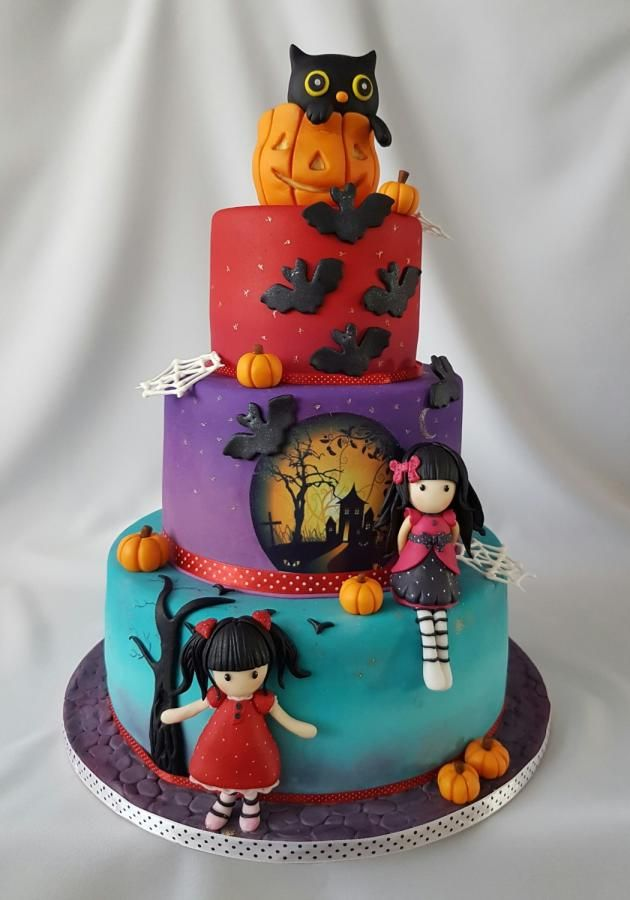 halloween cake cake by katka - Halloween Cakes Decorations
