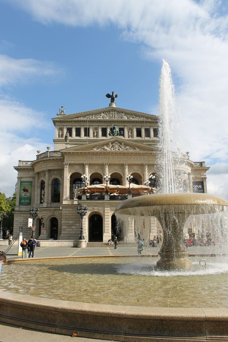 Frankfurt Opera  House, absolutely beautiful place to visit.  http://checkedinbaggage.com
