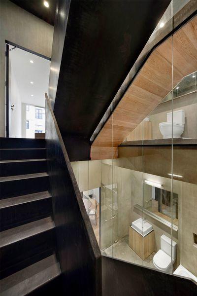 Stunning Fensterfronten Und Metall Treppe Haus Design ...