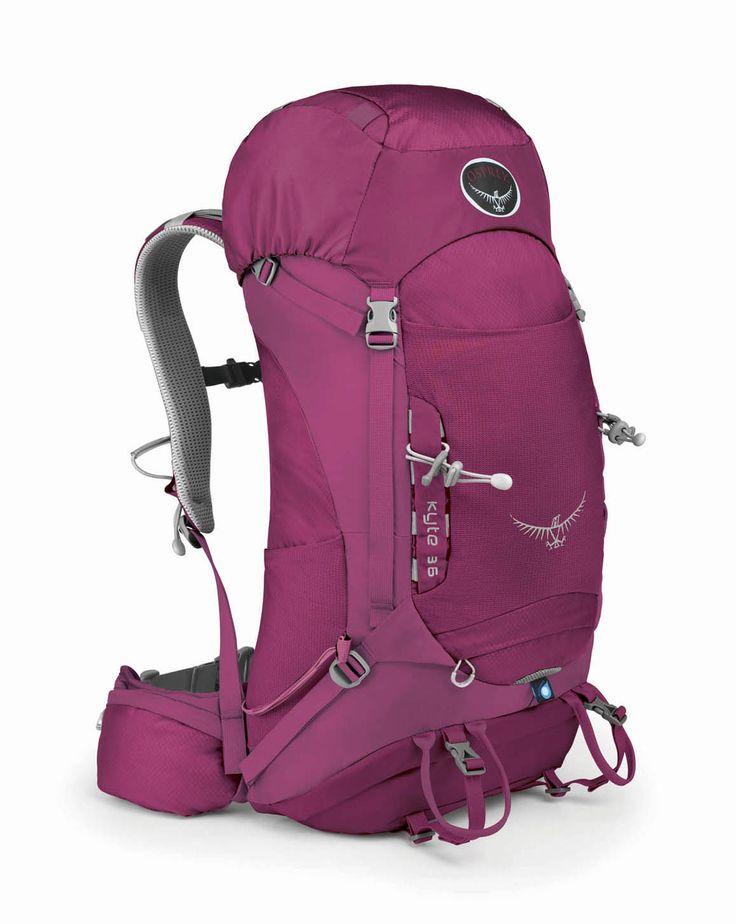Snowleader présente le sac de randonnée Osprey Kyte 36 http://www.snowleader.com/kyte-36-ws-rose-red.html